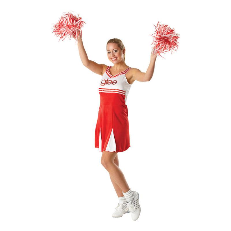 Glee Cheerleader Maskeraddräkt - Small