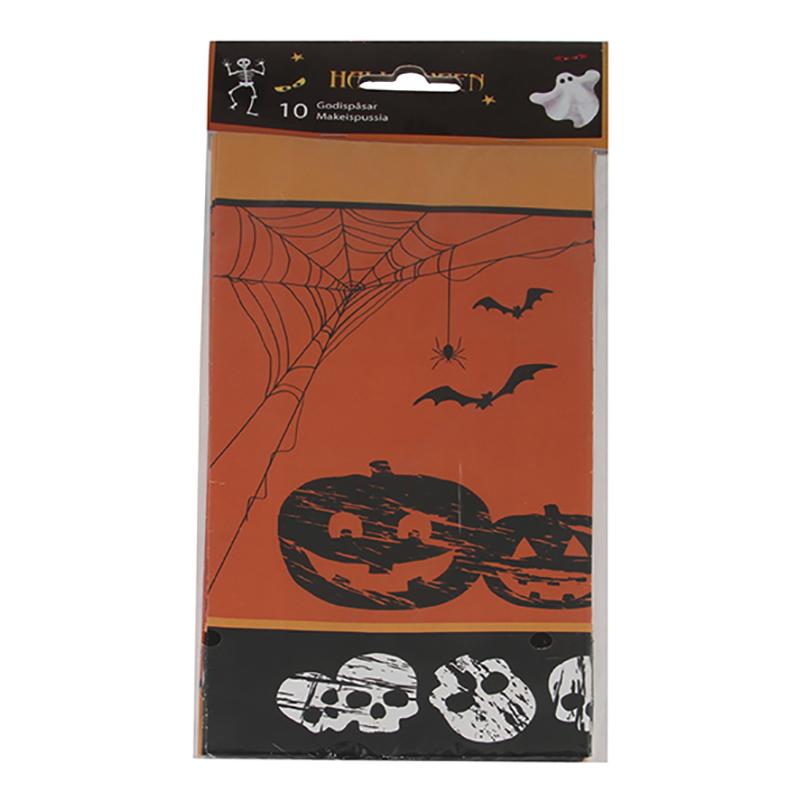 Kalaspåsar Halloween - 10-pack