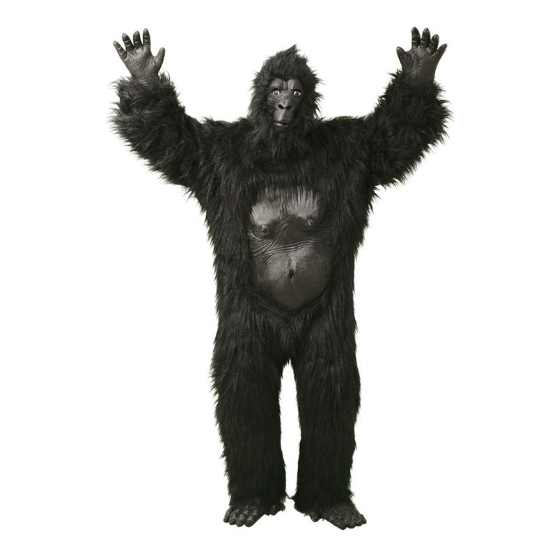 Gorilla Deluxe Maskeraddräkt - One size