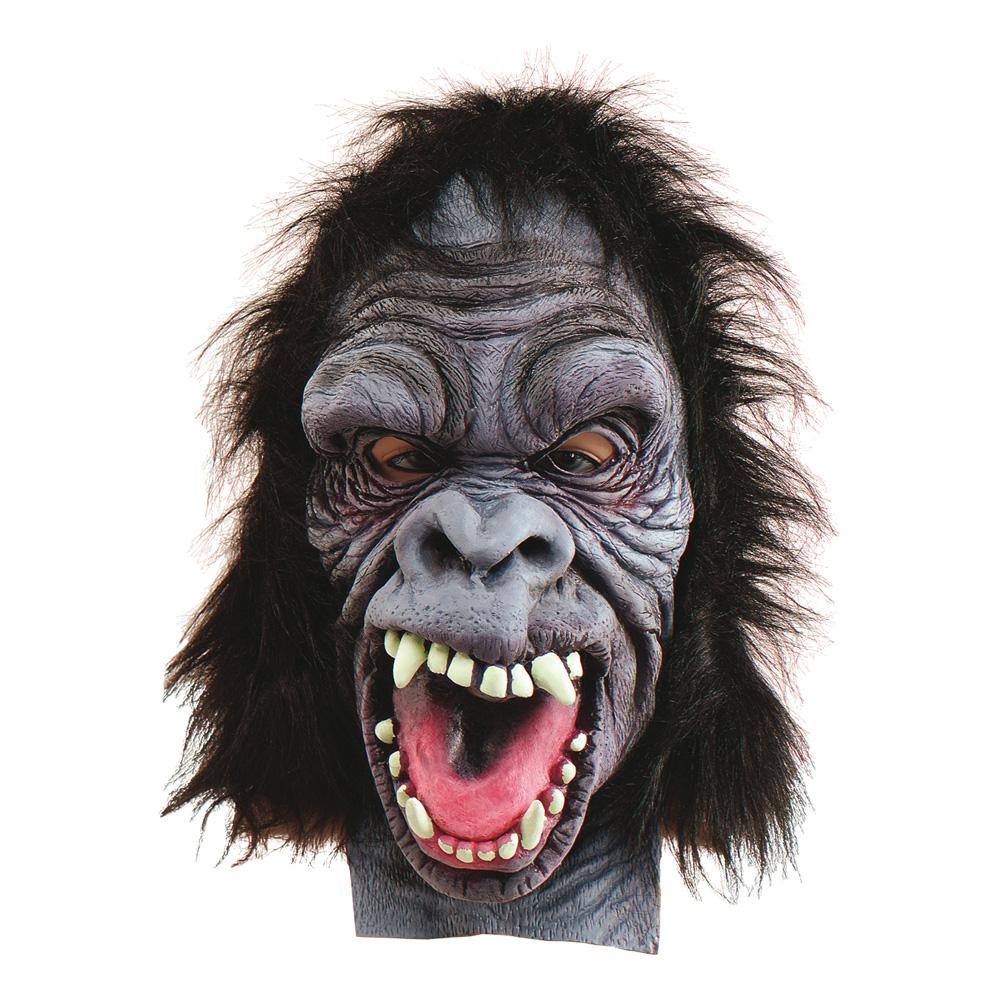 Gorillamask i Gummi - One size