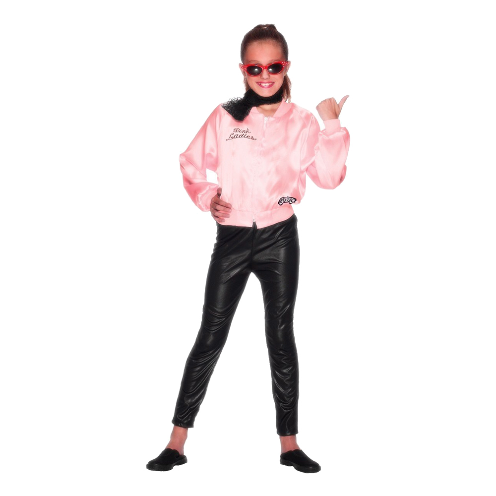 Grease Pink Ladies Barnjacka - Small