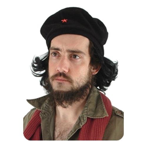 Guevara Mössa med Hår - One size