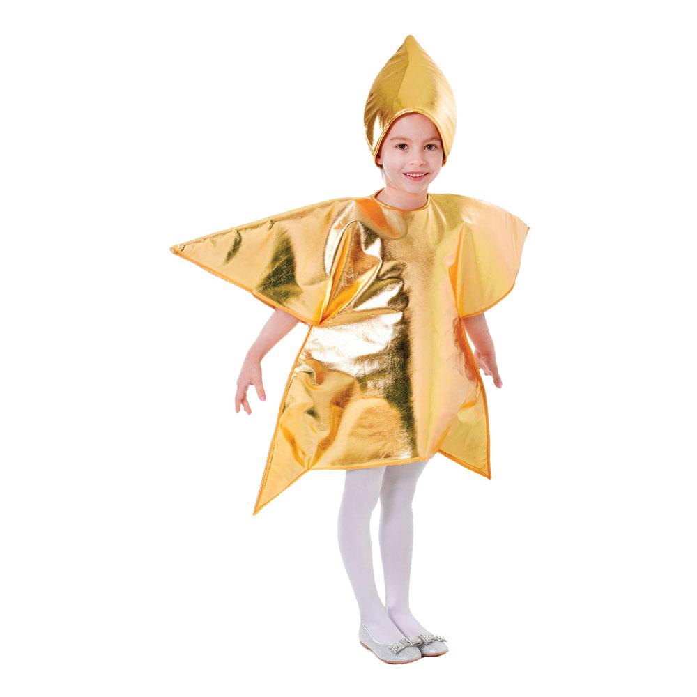 Guldstjärna Barn Maskeraddräkt - One size