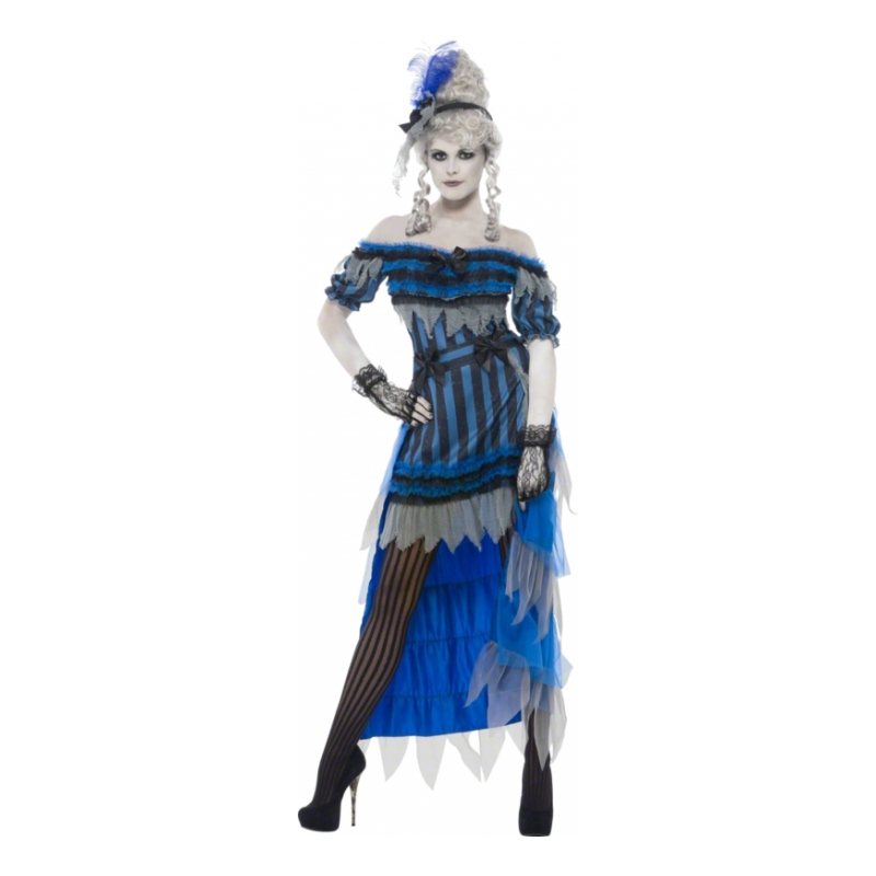 Saloongirl Halloween Maskeraddräkt - Small