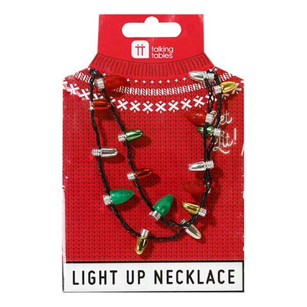 Halsband med Julgransbelysning