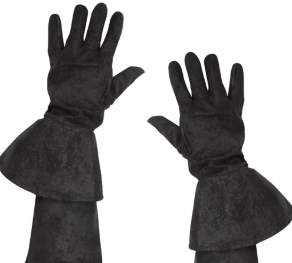Handskar Pirat Svarta - One size
