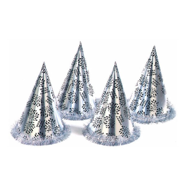 Happy New Year Konhatt Silver - 1-pack