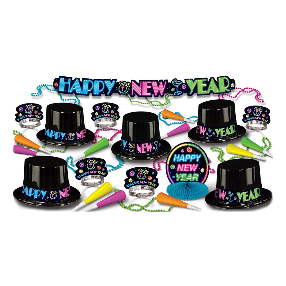 Happy New Year Neon Partykit