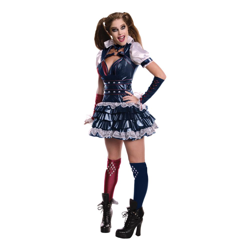 Harley Quinn Arkham Maskeraddräkt - X-Small cc6bc1d9cd7ad