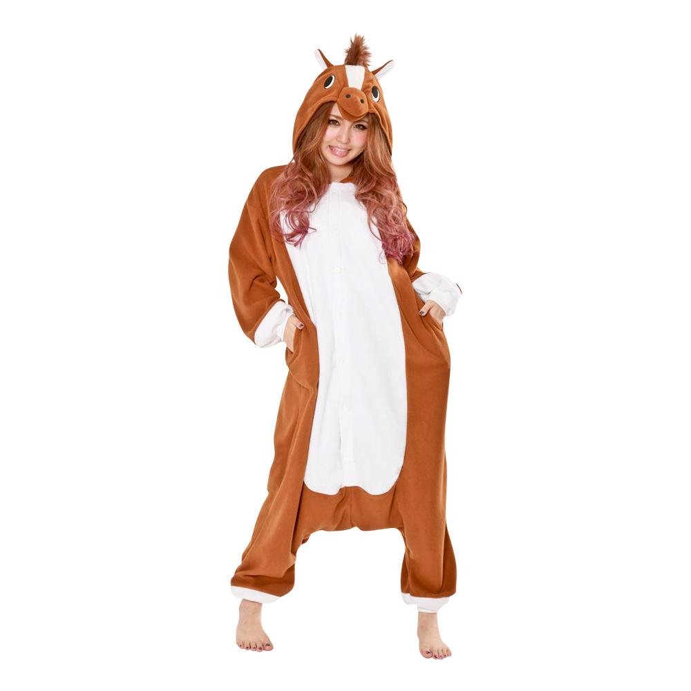 Häst Kigurumi - Medium