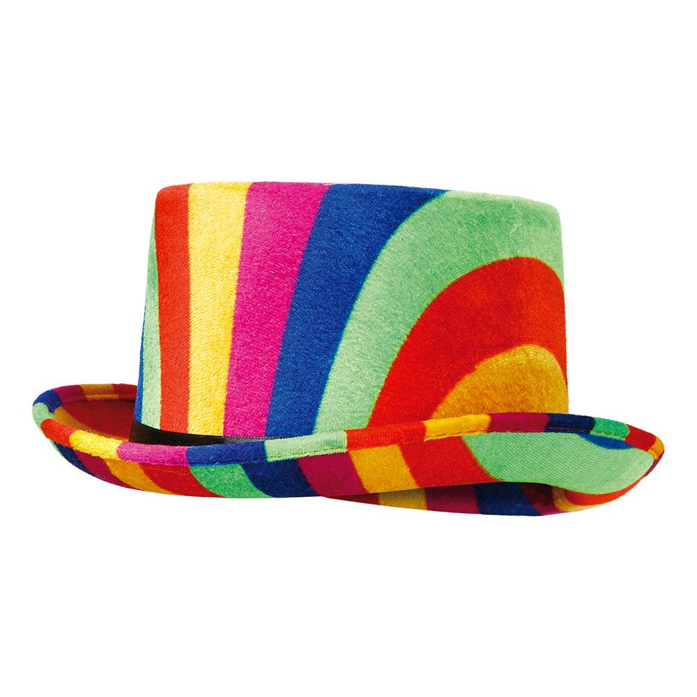 Hatt Regnbågsfärgad - One size
