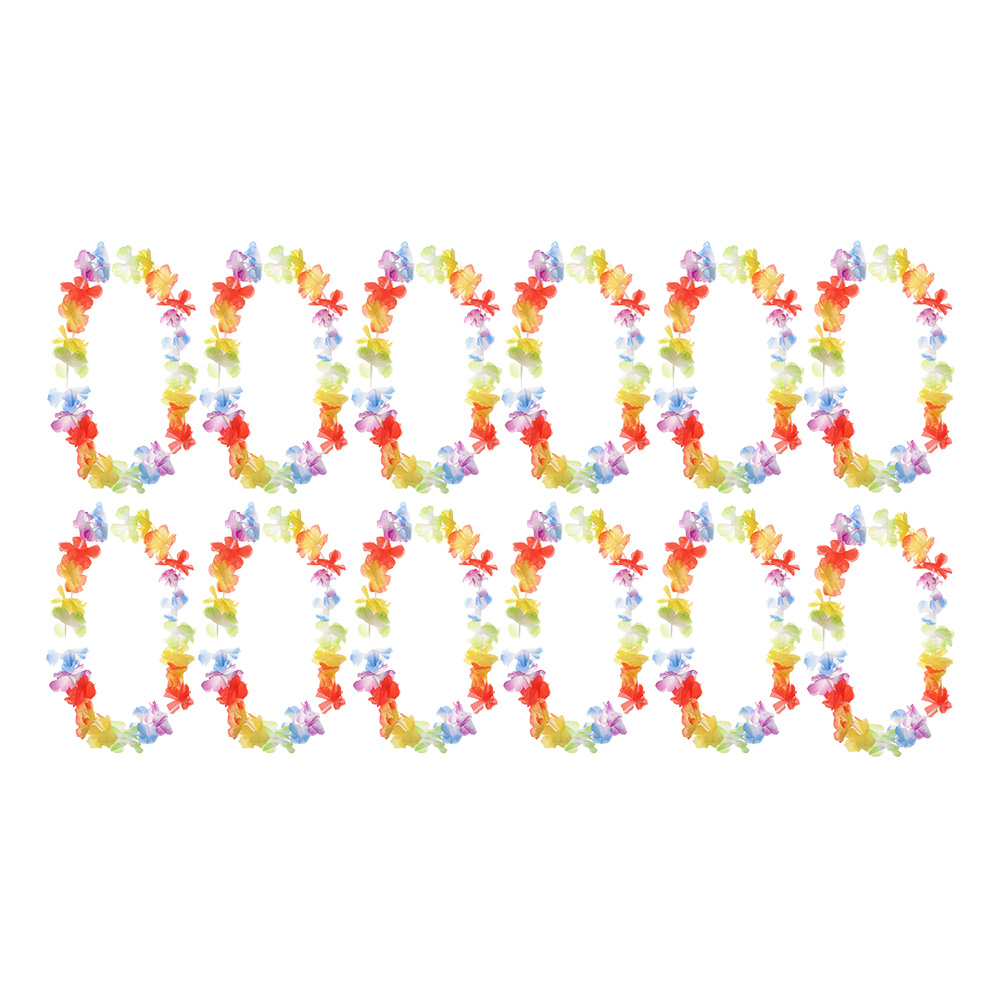 Blomsterkransar Hawaii Storpack 12-pack