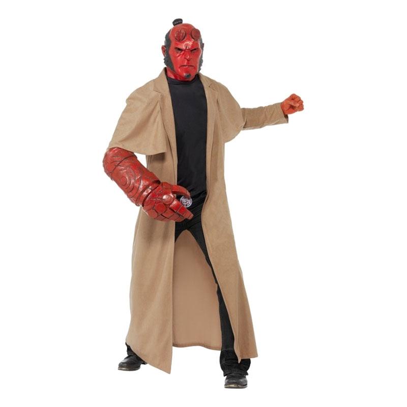 Hellboy Maskeraddräkt - One size