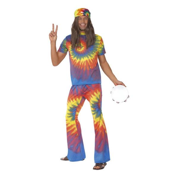 Maskeradkläder Vuxna - Hippie Man  - One size