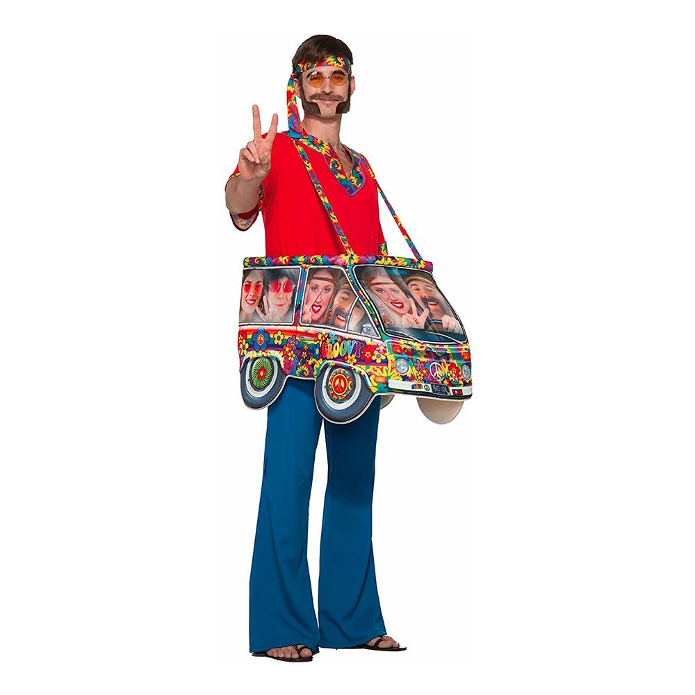 Hippiebil Step-In Maskeraddräkt - One size