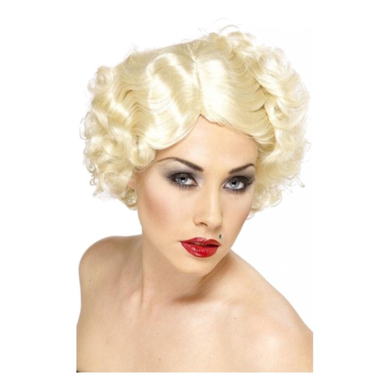 Hollywood Ikon Blond Peruk - One size