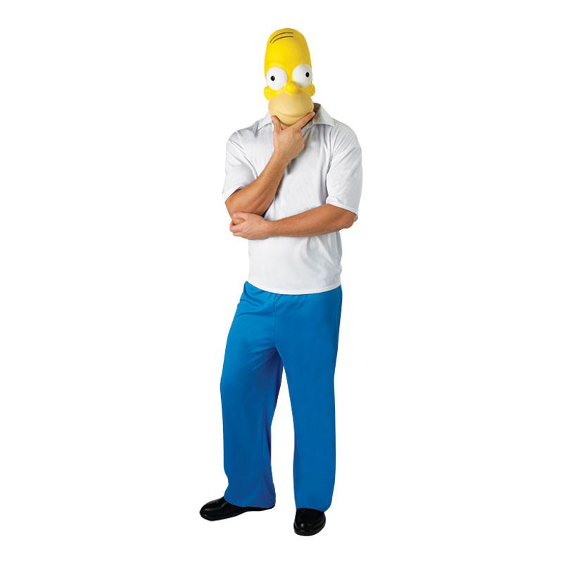 Homer Simpson Maskeraddräkt - Standard