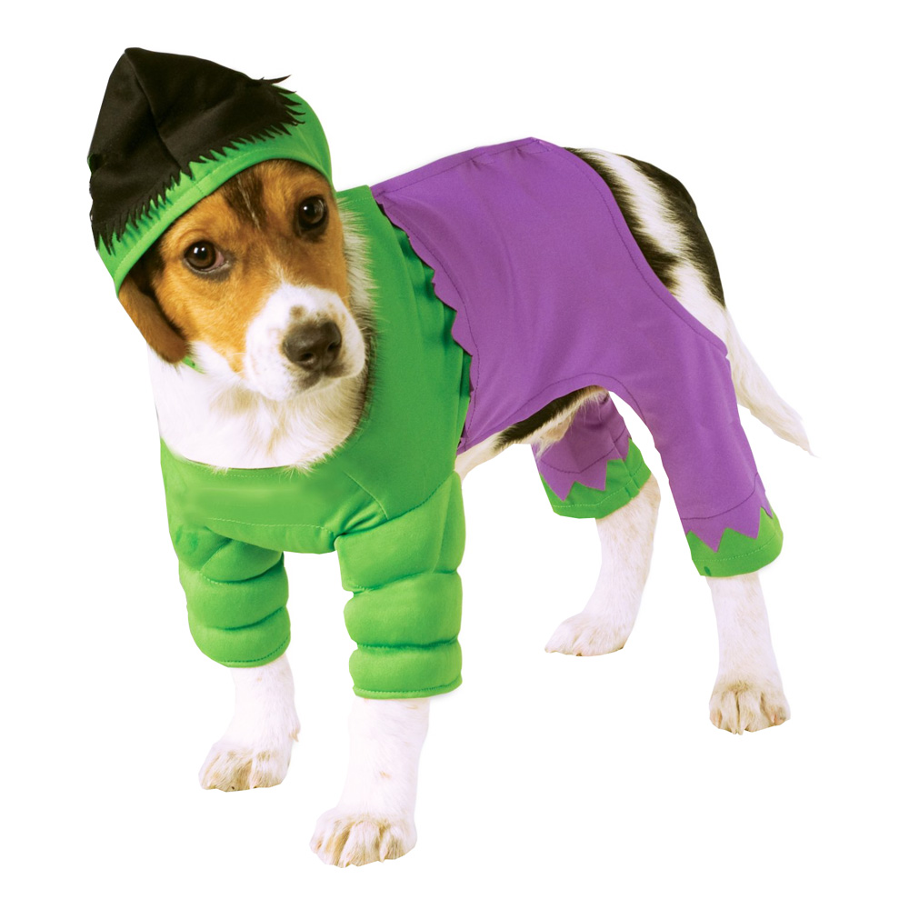 Maskeradkläder Vuxna - Hulken Hund  - Small