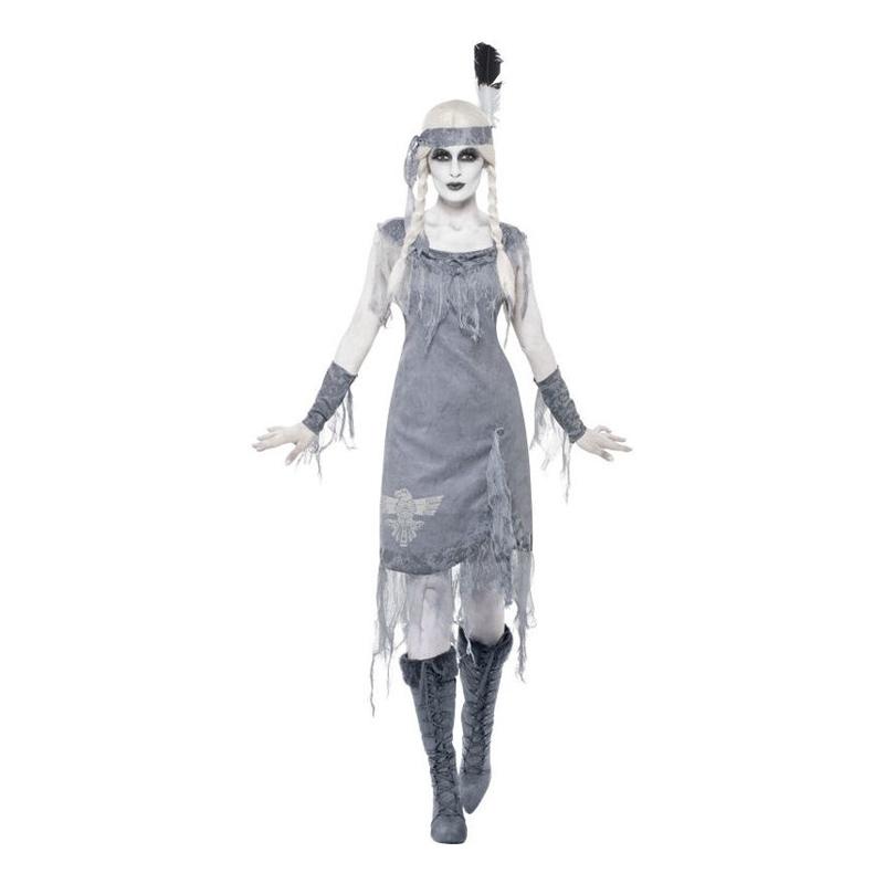 Indianprinsessa Halloween Maskeraddräkt - Small