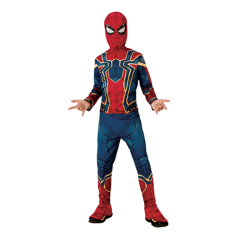 Iron Spider Barn Maskeraddräkt - Small