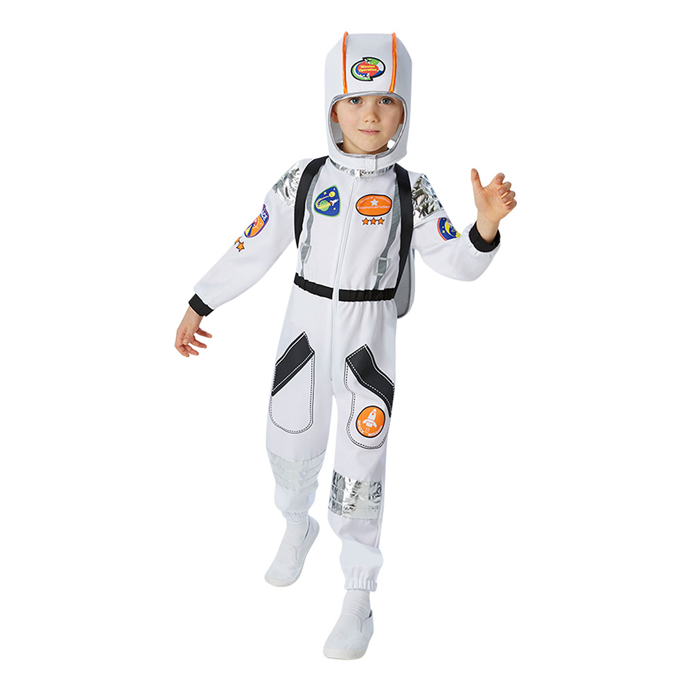 ISS Astronaut Barn Maskeraddräkt - Medium