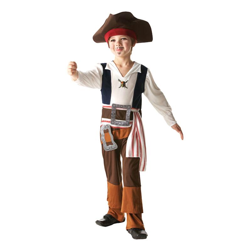 Jack Sparrow Barn Maskeraddräkt - Small
