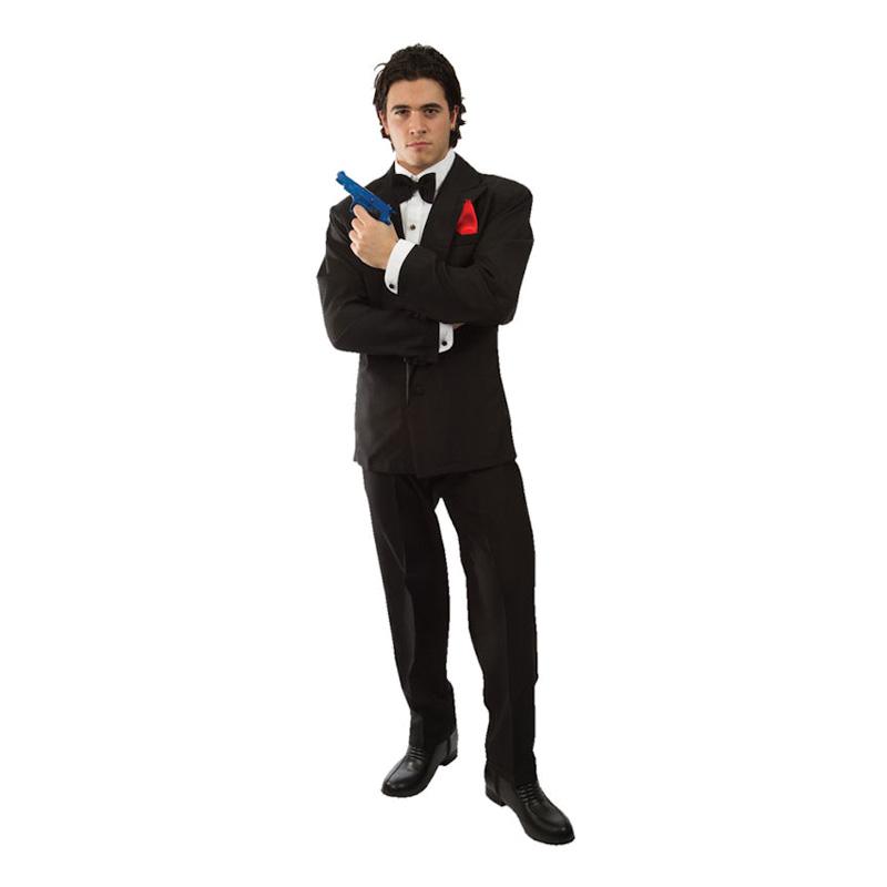 James Bond Maskeraddräkt - Standard billigt online  7ee25a44b741d