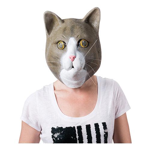 Jättemask Katt - One size
