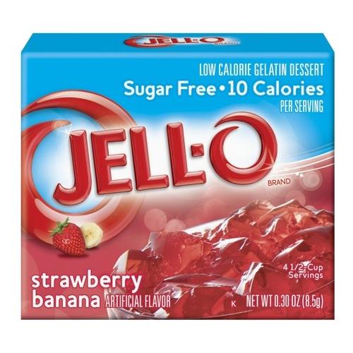 Jell-O Jordgubb/Banan - 1-Pack