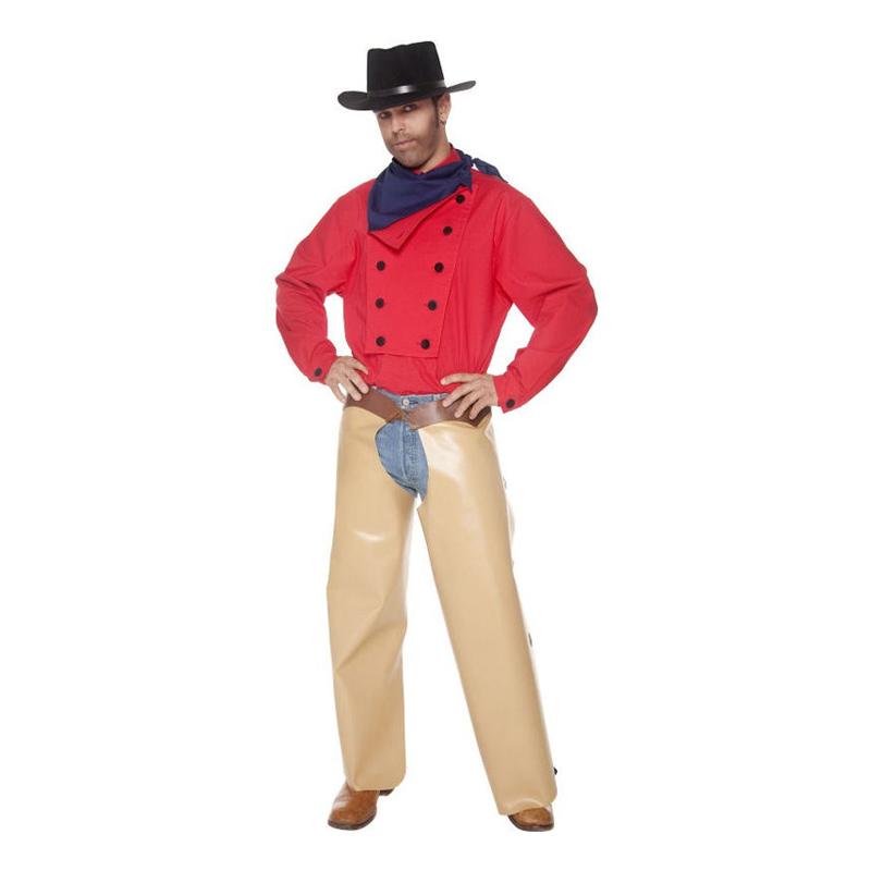 John Wayne Cowboy Maskeraddräkt - Medium