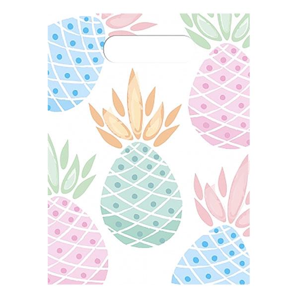 Kalaspåsar Ananas - 6-pack