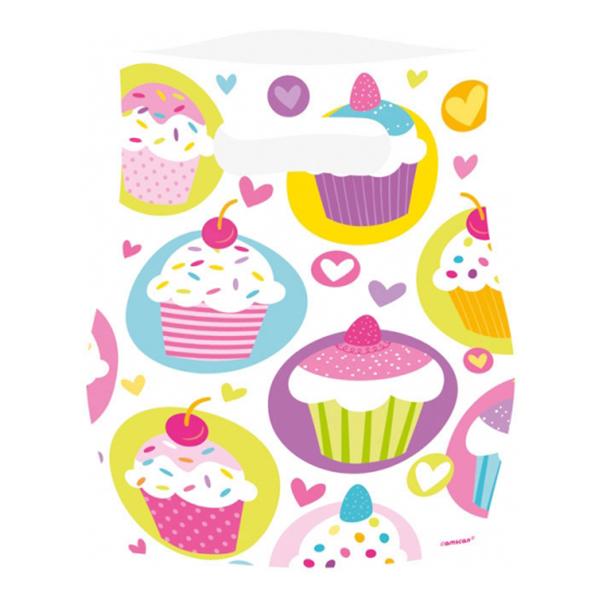 Kalaspåsar Cupcake - 6-pack