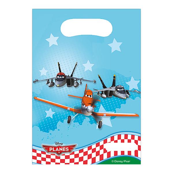 Kalaspåsar Disney Planes - 6-pack