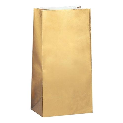 Kalaspåsar Guld - 10-pack