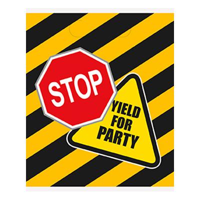 Kalaspåsar Party Zone - 8-pack