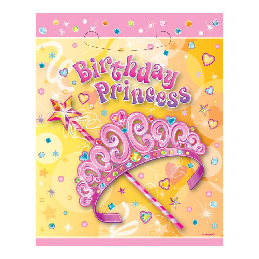 Kalaspåsar Prinsessa - 8-pack