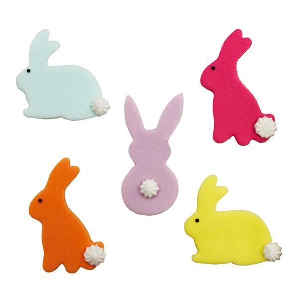 Kaniner Sockerfigurer - 5-pack