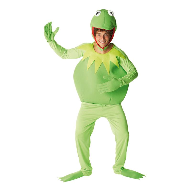 Kermit Maskeraddräkt - Standard