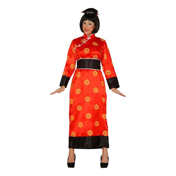 Kinesisk Kvinna Maskeraddräkt - One size