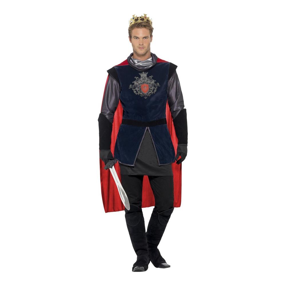 King Arthur Deluxe Maskeraddräkt - Medium