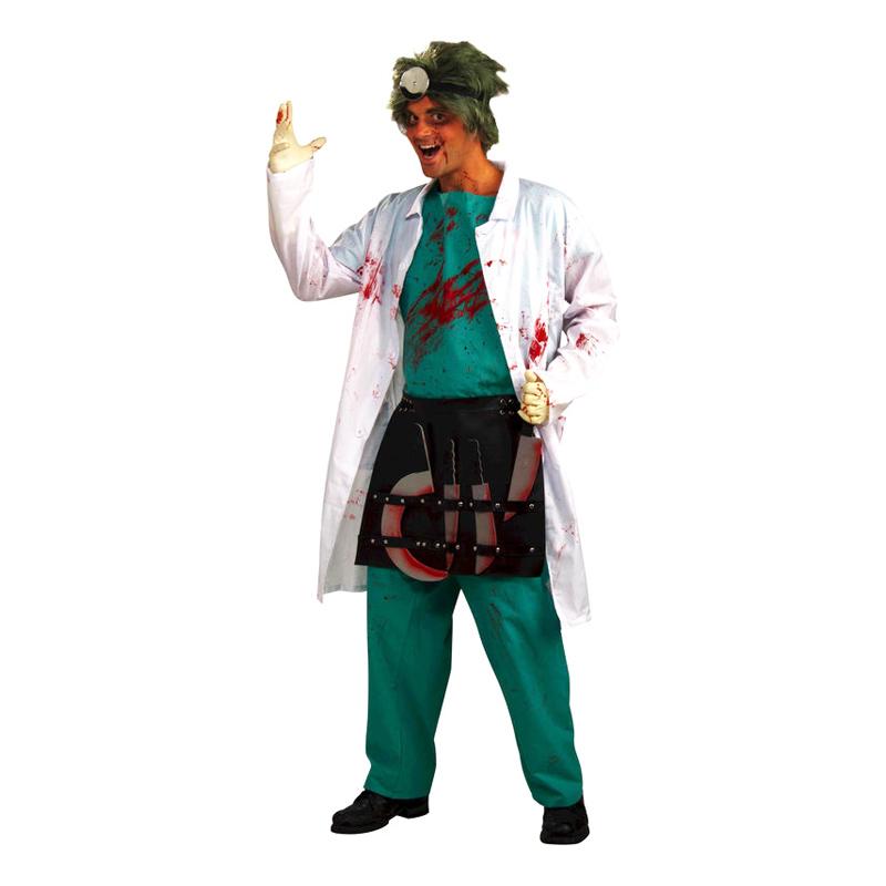 Kirurg Halloween Maskeraddräkt - One size