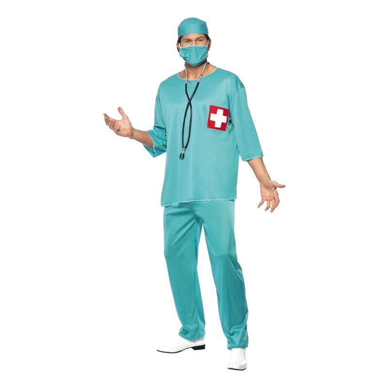 Kirurg Maskeraddräkt - Medium