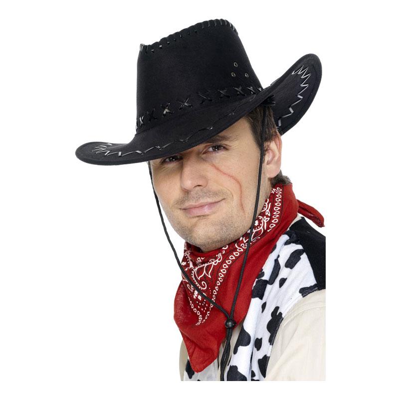 Klassisk Cowboyhatt Svart - One size