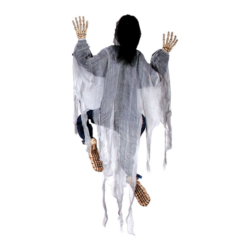 Klättrande Zombie Prop - Vit