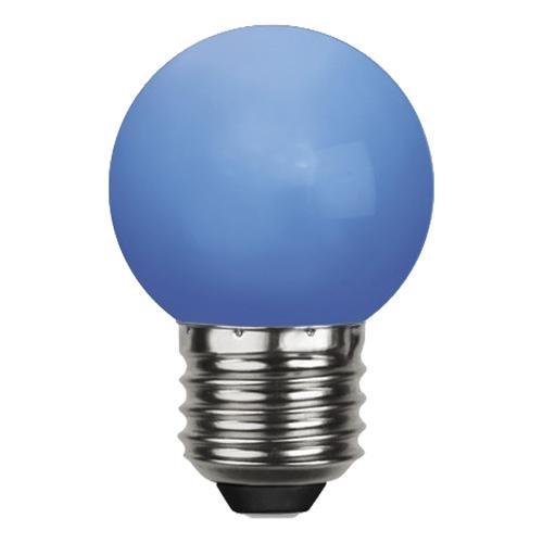 Klotlampa E27 LED - Blå