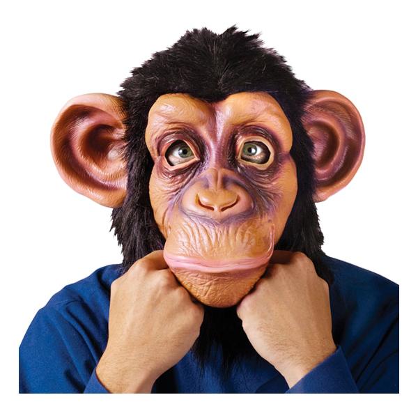 Komisk Schimpans Mask - One size
