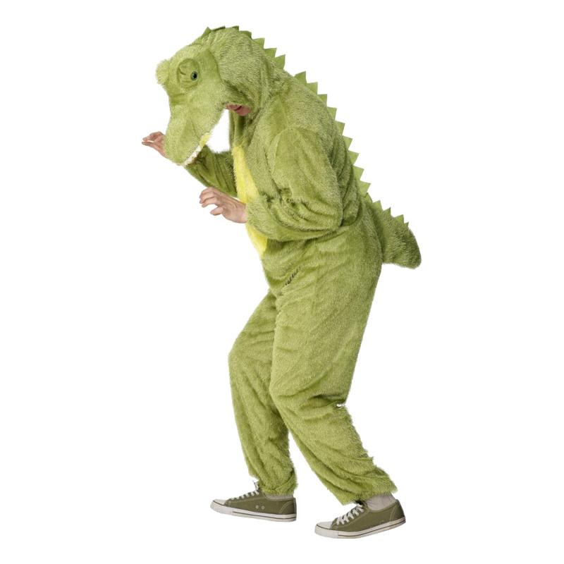 Krokodil Maskeraddräkt - One size