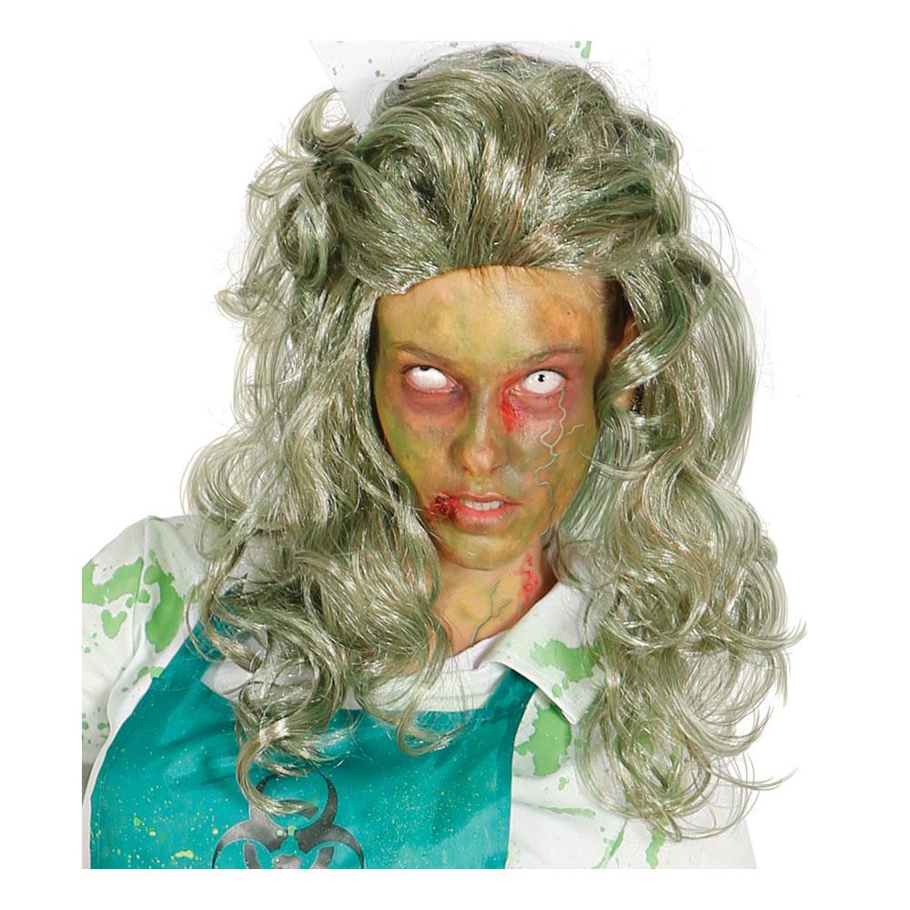 Kvinnlig Zombie Peruk - One size
