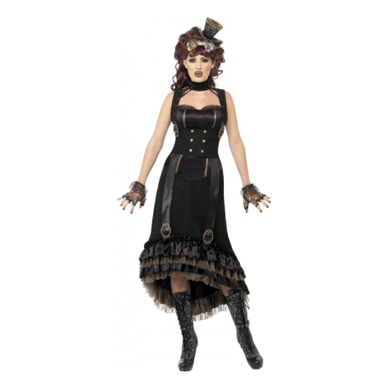 Steampunk Vampyra Maskeraddräkt - Small