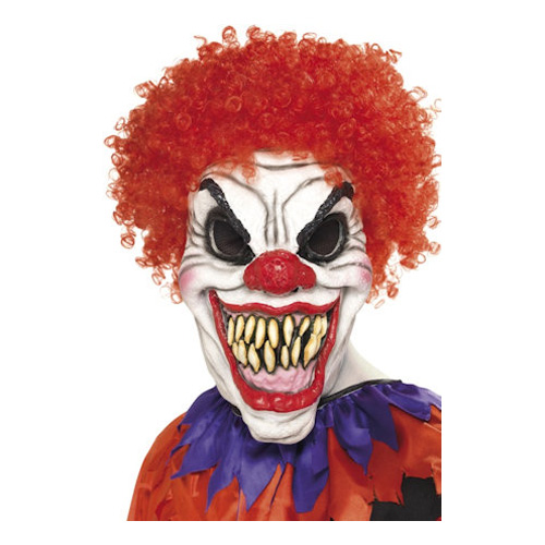 Läskig Clownmask - One size